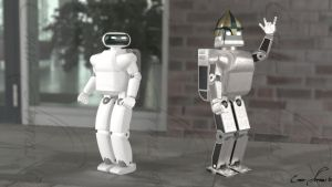 Robots from animation by armas777