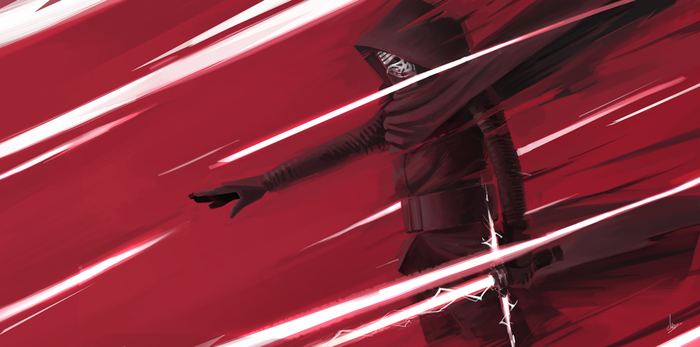 kylo ren fanart by blackstyluss