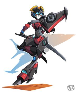 Windblade by chikinrise