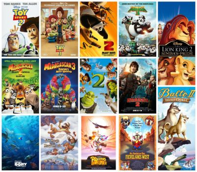 14 Favorite Animated Sequels by HenriDucard2189