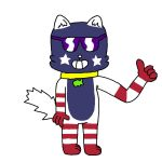 America the Cat (Commission) by ArcticKitty81