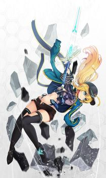 Fate/Grand Order   Mysterious Heroine X by goomrrat