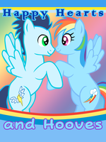 Hearts and Hooves: Soarin x Rainbow Dash by LudiculousPegasus