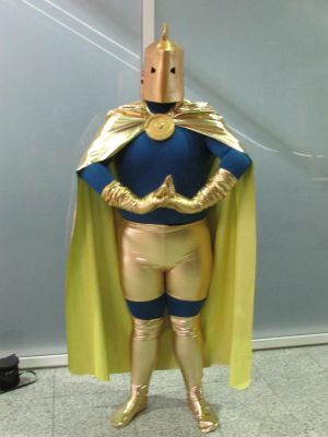 DC Comics - Dr Fate cosplay (2) by DILLIGAF-Otaku