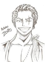 Roronoa Zoro ~ One Piece (After Time-skip) by ArisaKei