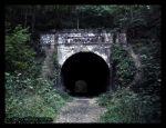 The Moonville Tunnel by Nashoba-Hostina