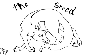 The Greed -lineart- by Mello2yellow