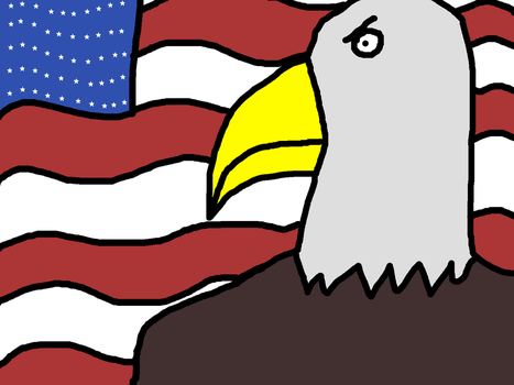 Merica' Eagle by Carssson