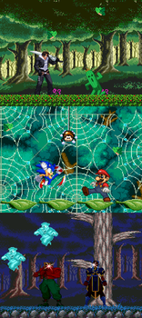 [Mugen Stage] Enchanted Forest by JordanoDaMano