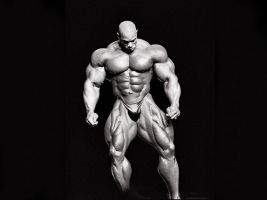 Puzzled Muscle by n-o-n-a-m-e