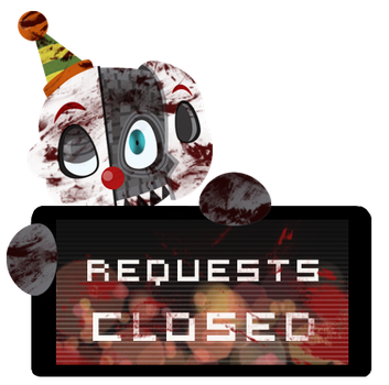 Ennard Requests CLOSED Stamp by Ink-cartoon