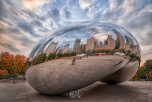 Chicago Bean, Cloud Gate FB by alierturk