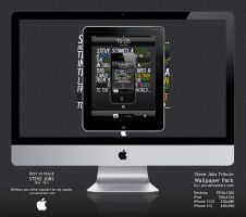 Steve Jobs Tribute Wallpapers by wellgraphic