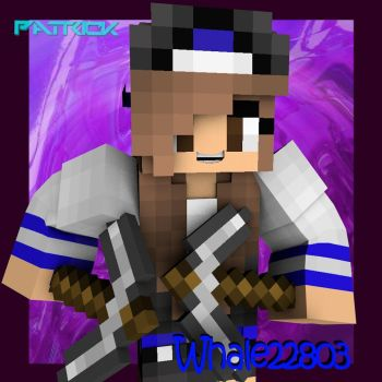Minecraft girl profile picture by djwarrior77