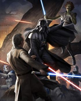 Dark Lord: The Rise of Darth Vader by wraithdt