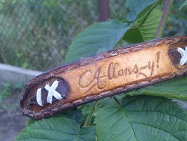 Allons-y! Doctor Who leather bracelet by gumex