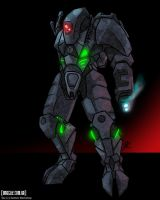 The Future: XV-22 Battlesuit by OmegaTwo