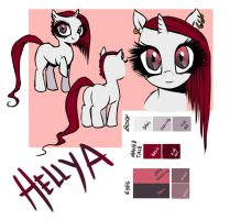 NEW OC: Hellya! Chart colors by RubyPM