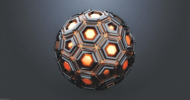 Polyhedron by TRANSC3DENT