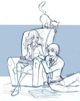 Hp Common room RHr by mary-dreams