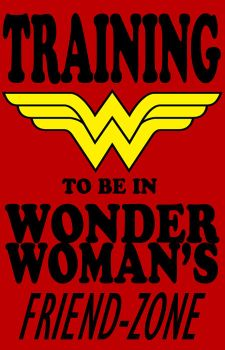 Wonder Woman Friend-Zone tshirt by The-Chosen-Millenium