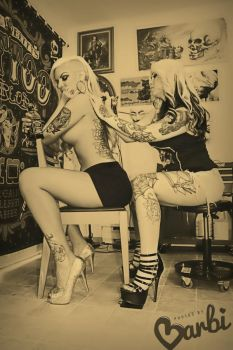 Tattoo Pinup by PhotosByBarbi