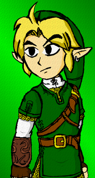 Wind Waker - Adult Link by DairyKing