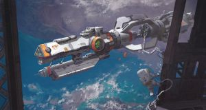 a future nasa ISS by mMark