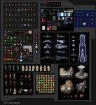 Sample Game Sprites by Serathus by Serathus