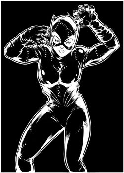 Batman Returns Catwoman 111 by djmpaz