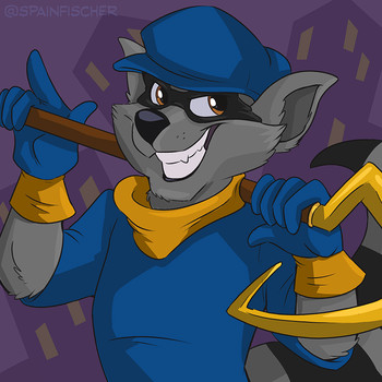 Fan Favorites #37 - Sly Cooper by SpainFischer