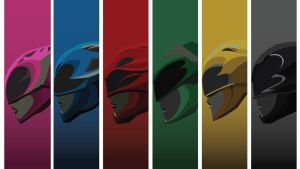 Mighty Morphin Power Rangers 2017 Wallpaper 4 by mexicoknight