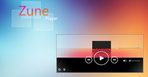 Zune Player by AxiSan