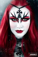 Gothic Make up by JenHell66