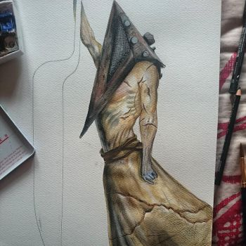 pyramid head progress by sutagaru