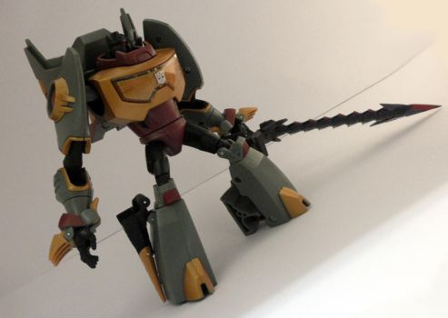Animated grimlock - Closeup by Poo-Fly