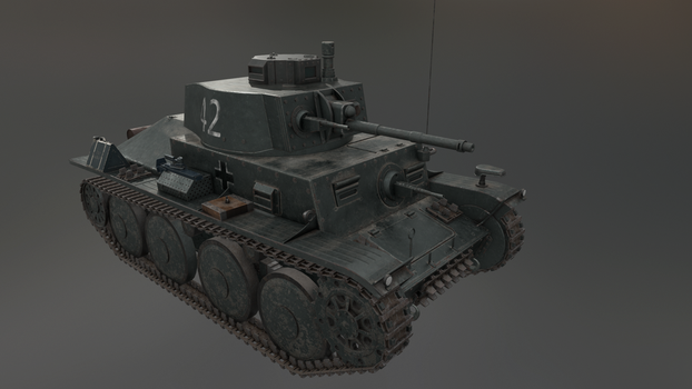 PzKpfw 38(t) 1 by LordTruewulf