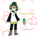 Bianka Shimori : Vocaloid Oc  by Swilor-itoo
