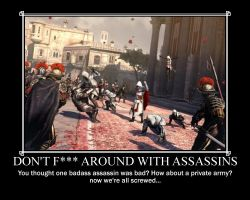 Don't F--- with Assassins by Volts48