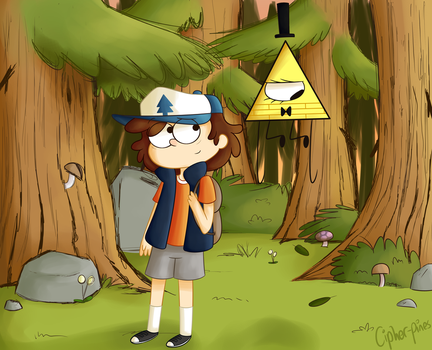 Down in the forest by happyeggboy