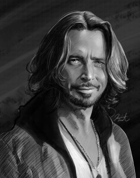 Chris Cornell by WeaponMassCreation