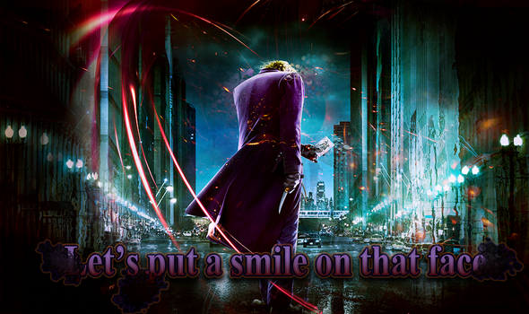 Put a Smile On That Face by Dumbledwarfe