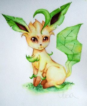 Catch them all: Leafeon by Alisssia
