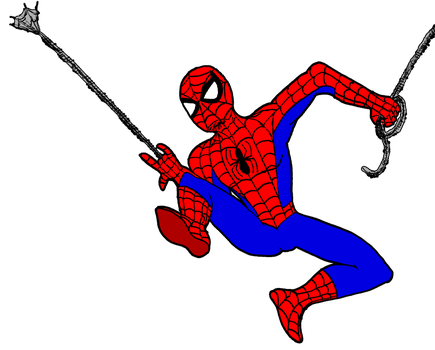 Spider-Man (Colored) by soryukey