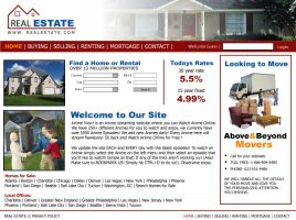 real estate site by darrelltate