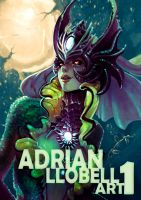 ARTBOOK 1 Cover!! by AdrianWolve