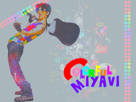 Colorful Miyavi, by TsukiNita