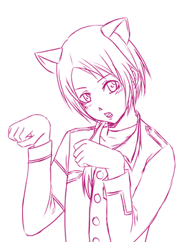 Kashuu WIP by piko-chan4ever