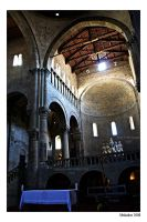 Looking into the apse by malaskor