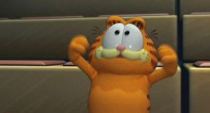 Garfield Gets Real gif - grin by Nutty-Nutzis
